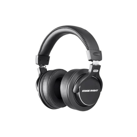 - Monoprice Multimedia Studio Reference Monitor Headphones - 53mm | Closed-back - Stage Right Series