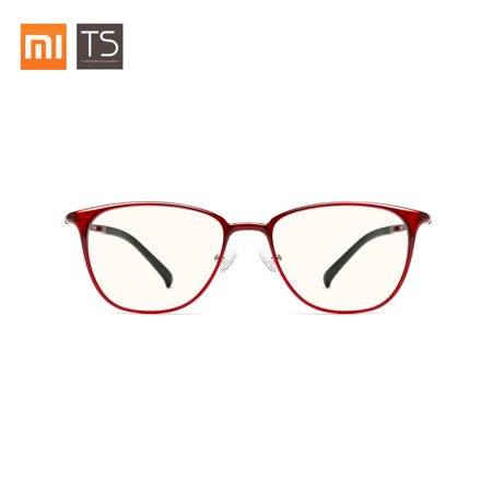Xiaomi Mijia TS Anti-Blue Glasses Goggles Anti Blue Ray UV400 Fatigue Proof Eye Protector Lightweight Comfortable Eyewear Eyeglasses For Men Women (Ray Ban Eyeglasses Made In Italy)