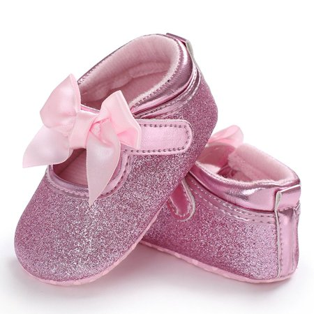 C431 Kids Princess Windy Butterfly Knot Soft-soled Walking Shoes Kids Shoes - image 6 of 8