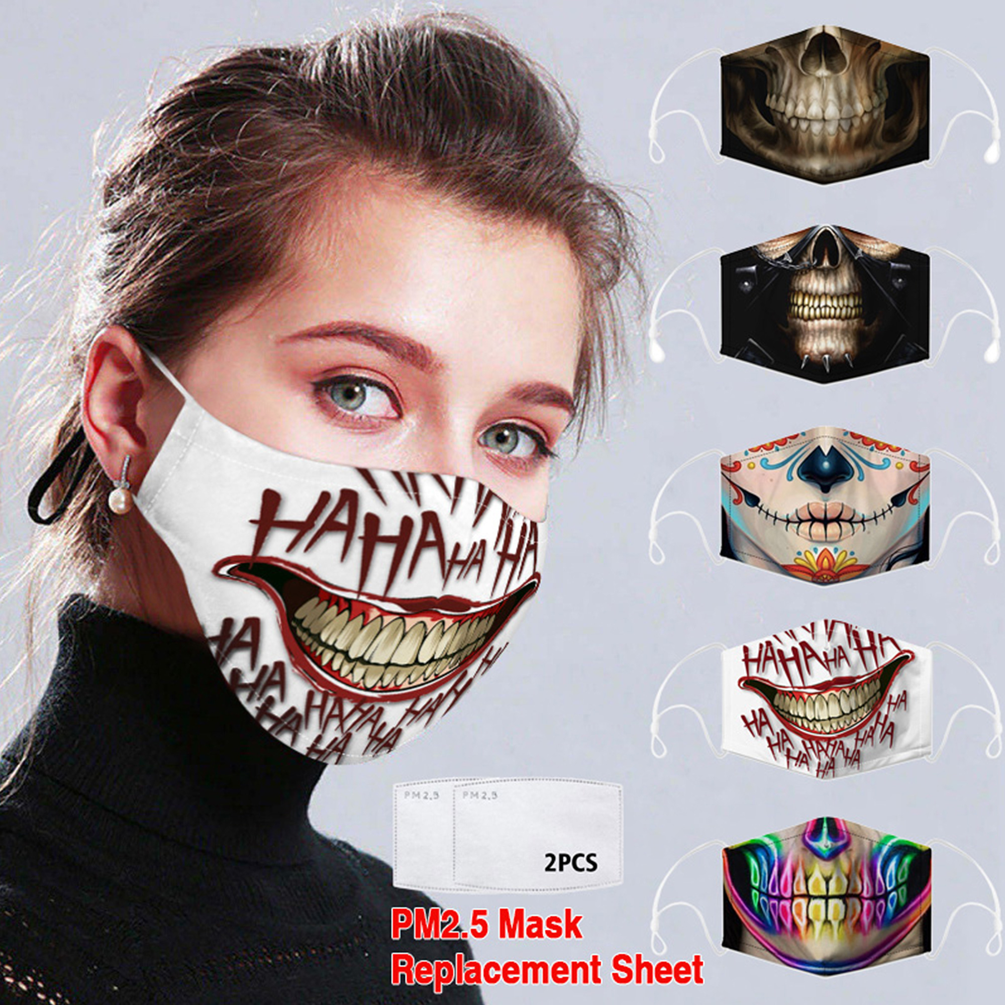 Cuh 1 2 5 Pcs Women Man Mouth Covering Fashion Clothing Washable Reasuable Breathable Stretchable Outdoor Sport Run Protection For Adult Childs Walmart Com Walmart Com