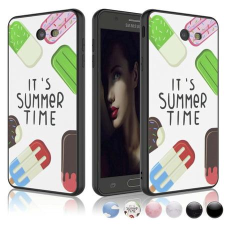 Case One Piece (Galaxy J3 Emerge Case, Njjex For Samsung Galaxy J3 2017 / J3 Prime / J3 Mission / J3 Eclipse / J3 Luna Pro / Sol 2 / Amp Prime 2 / Express Prime 2 TPU Sturdy Phone Cases Cover One Piece Design )