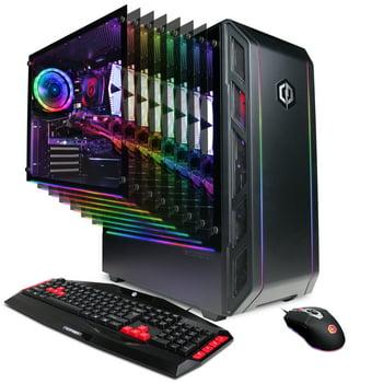 CyberpowerPC GMA8988W Desktop (Ryzen 5 / 8GB / 480GB SSD / 4GB Video)