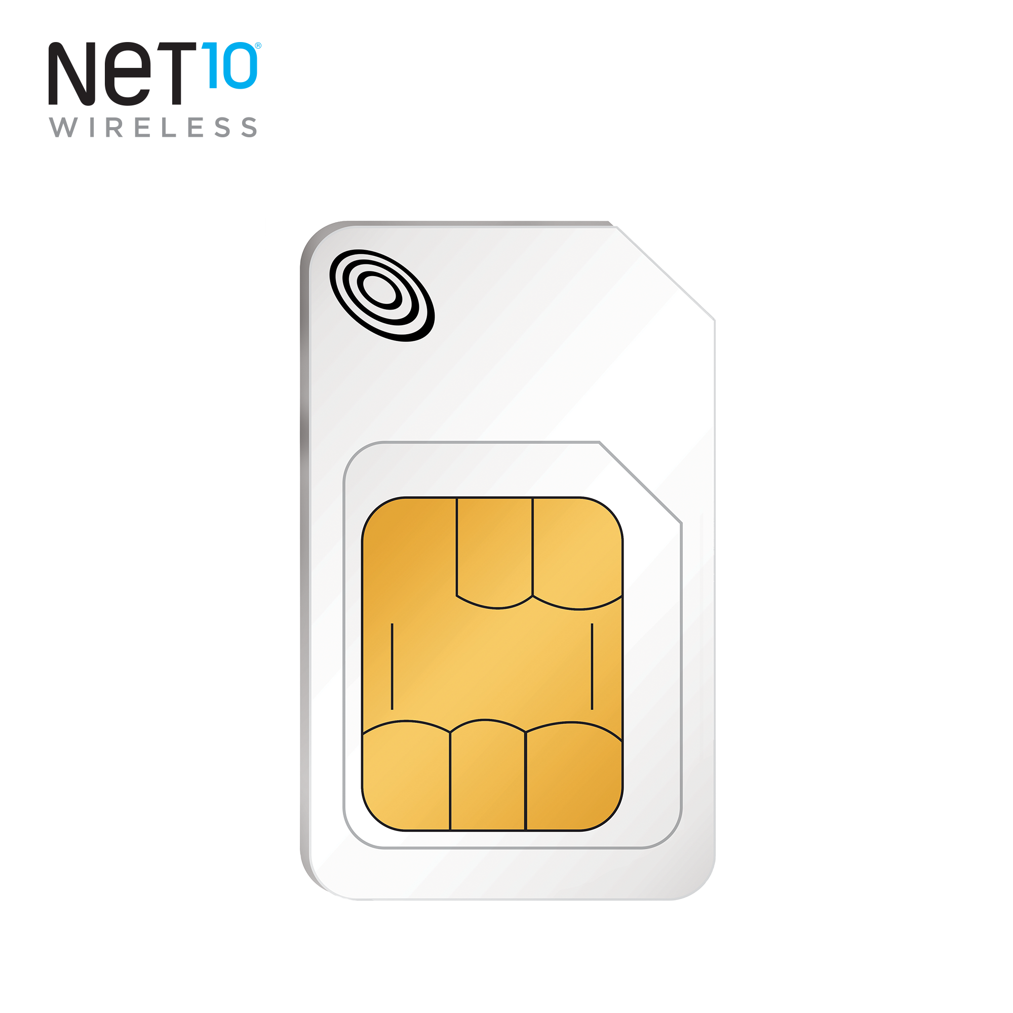 Net10 AT&T Compatible Standard and Micro SIM Activation Kit