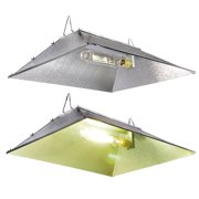 "Yescom 35"" x 29"" Reflector Hood 5 Reflective Surfaces for HPS MH Grow Light Bulb Indoor Greenhouse Tent Hydroponics"