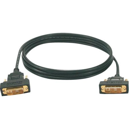 QVS HSDVIGA-3M C-ble DVI-D m-le - m-le de 3 m avec connecteurs pivotants dor-s - image 1 de 1