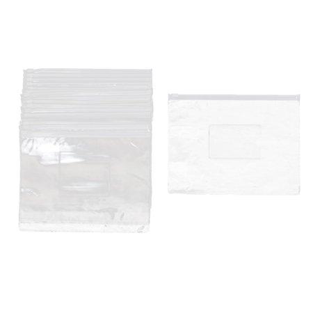 Plastic Office School A5 Size Paper Document File Storage Holder Bag Clear 20pcs ()
