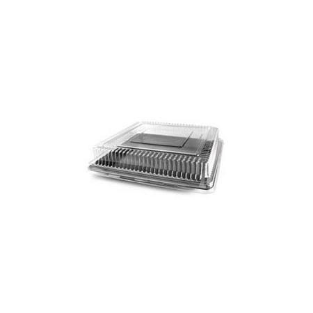 Fineline Settings 9500-L 10.75 x 10.75 Square Dome PET Lid ()