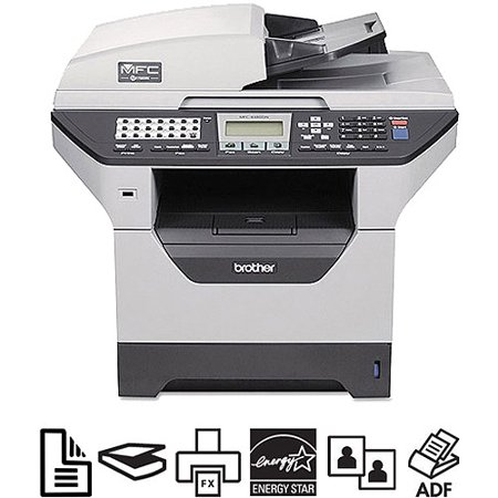 Brother MFC-8480DN - Multifunction printer - B/W - laser - Legal (8 5 in x  14 in) (original) - Legal (media) - up to 32 ppm (copying) - up to 32 ppm