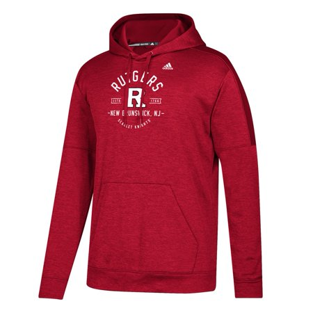 Rutgers University Hoodie Adidas Team Issue Pullover Hood