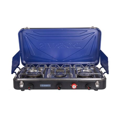 Stansport Outfitter Series 3-Burner Propane Stove Blue