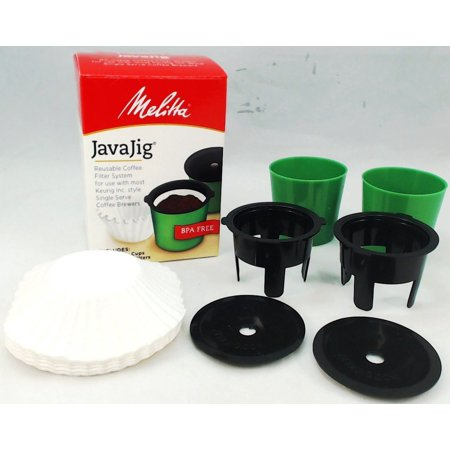 63228, Melitta JavaJig, Reusable Coffee Filter System for Keurig Style Brewers