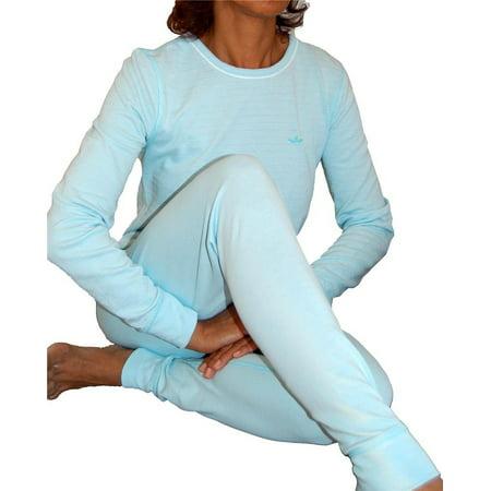 2 Piece Set Top and Bottom Ladies Ski Long Johns Thermal Underwear thumbnail