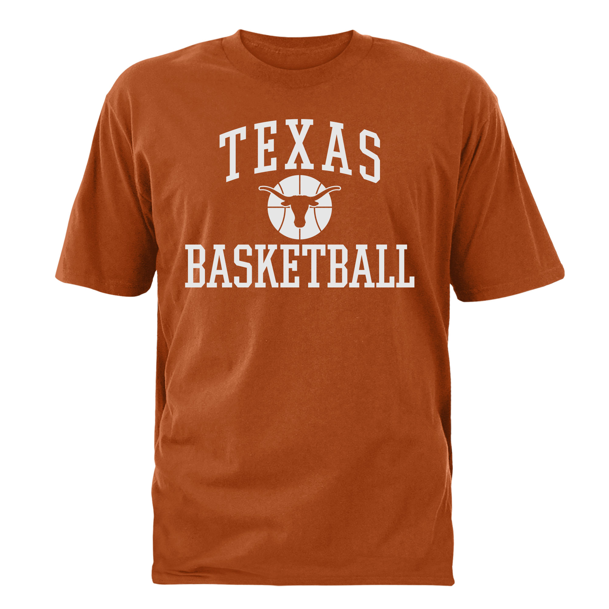 Men's Texas Orange Texas Longhorns Basketball T-Shirt