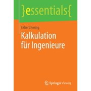 Essentials: Kalkulation Für Ingenieure (Paperback)