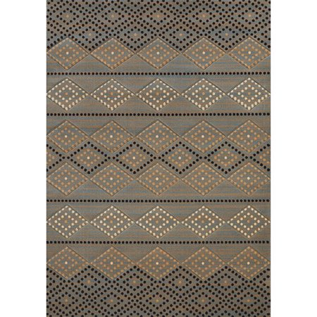 Union Rustic Frida Black/Gray Area Rug ()