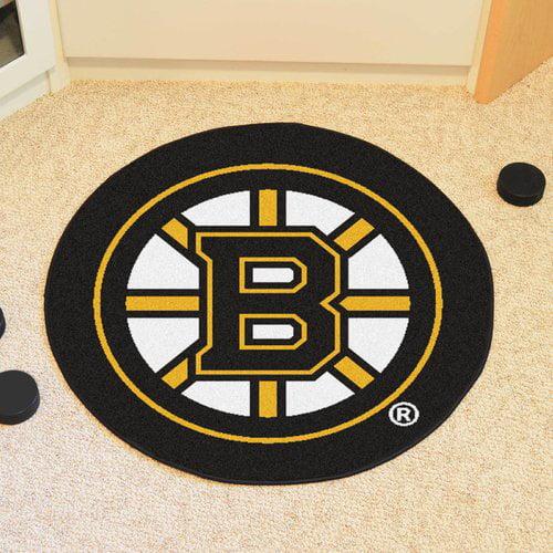NHL Boston Bruins Puck Mat