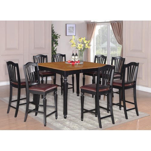 Charmant Darby Home Co Ashworth 9 Piece Counter Height Pub Table Set