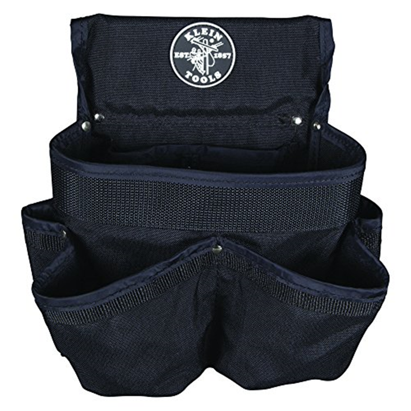 Electrician Tool Pouch,8 Pocket KLEIN TOOLS 5718
