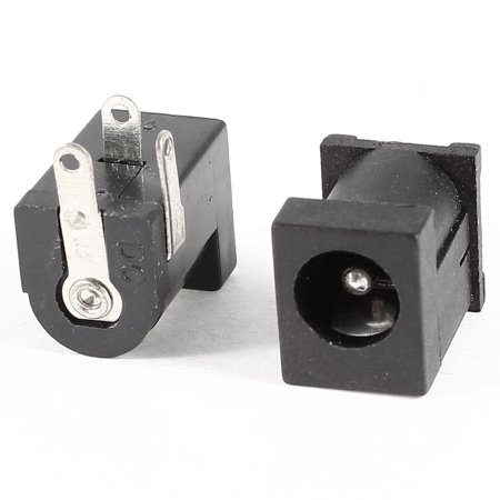 - Unique Bargains 2 Pieces 3 Pin PCB 2.1mmx5.5mm Female DC Jack Socket Connector DC 30V 1.5A