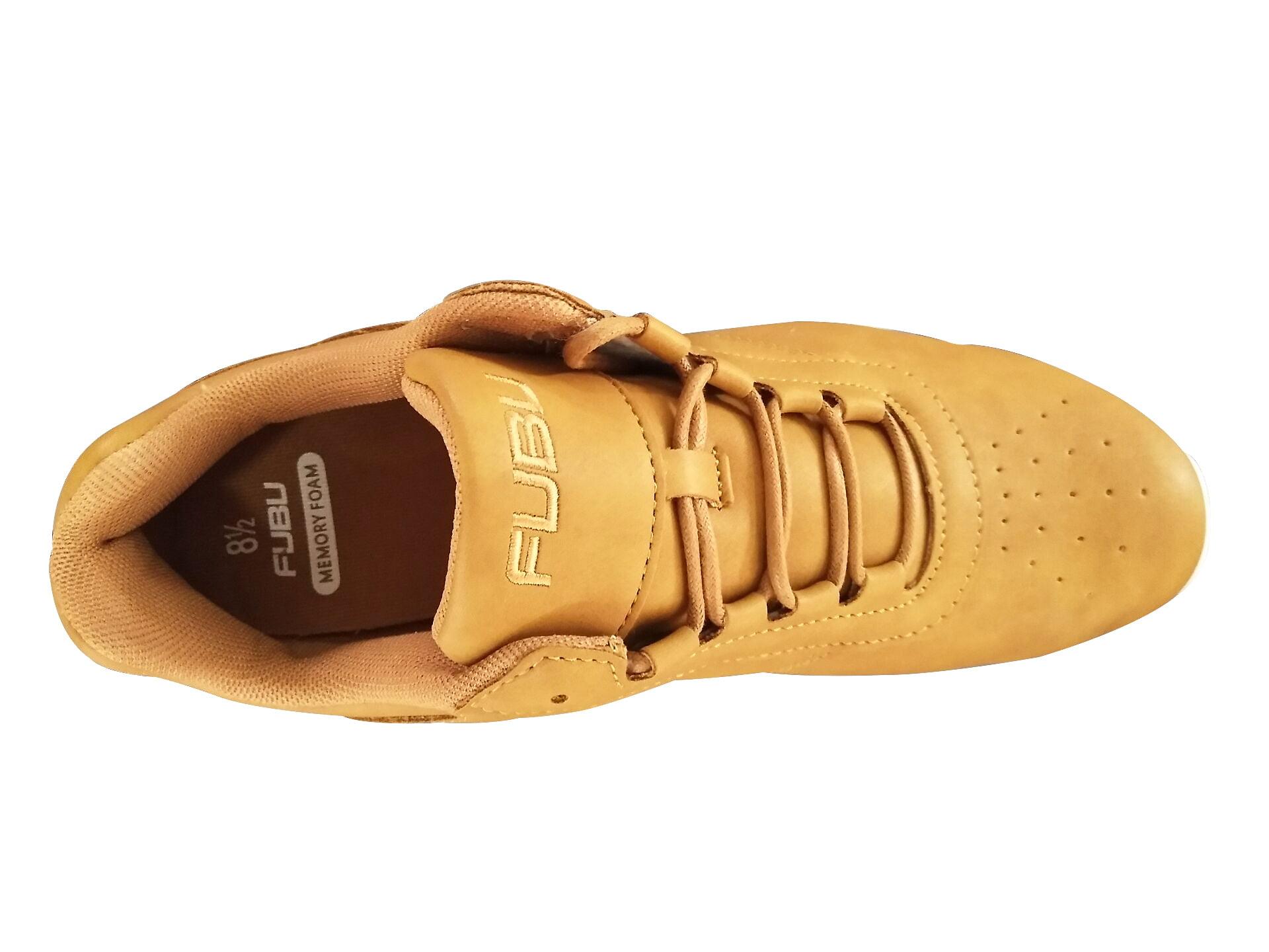 FUBU Men/'s Urban Lightweight Memory Foam Comfort Sneakers 9.5 /& 10.5 Wheat New