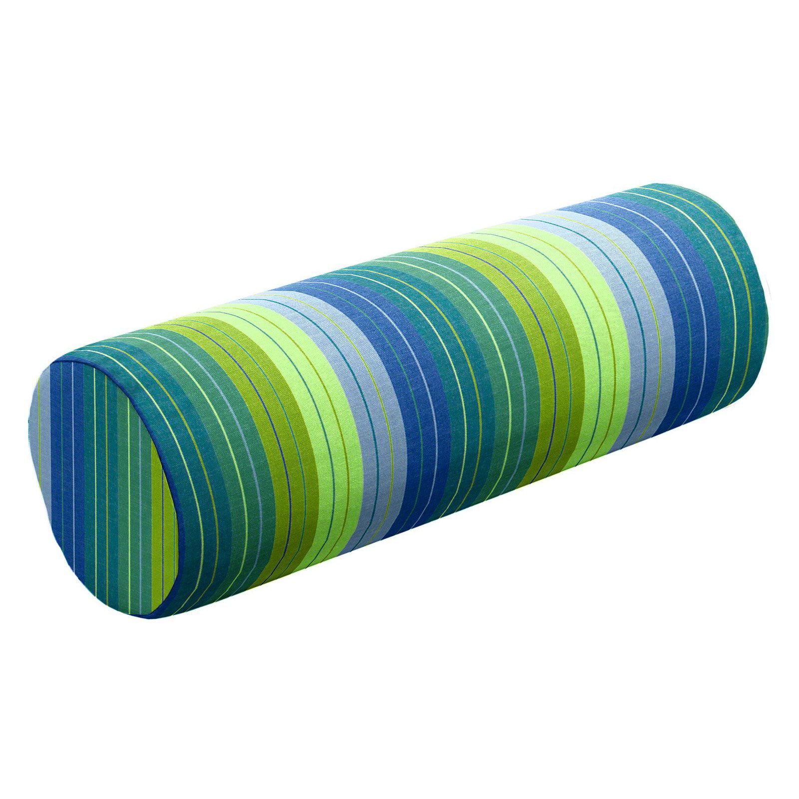 Cushion Source 20 X 6 In Striped Sunbrella Indoor Outdoor Bolster