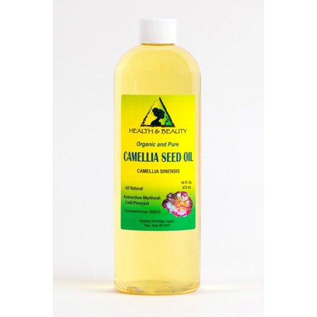 Camellia Seed Oil - CAMELLIA / CAMELIA SEED OIL ORGANIC CARRIER COLD PRESSED 100% PURE 16 OZ