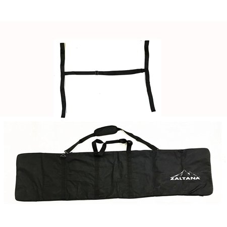 zaltana SKB28 Padded Snowboard Carier Bag Rack, Black - Explorer Snowboard Bag