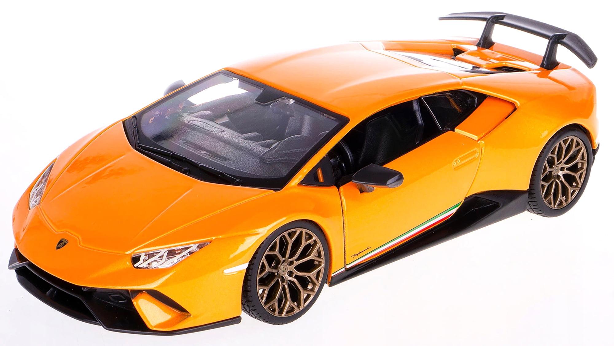 Bburago 1:24 Lamborghini Huracan Performante Diecast Metal Model Roadster Car