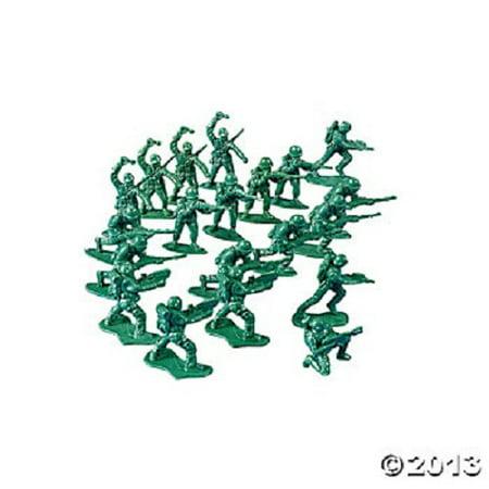 Set of 144 Plastic Green Mini 1