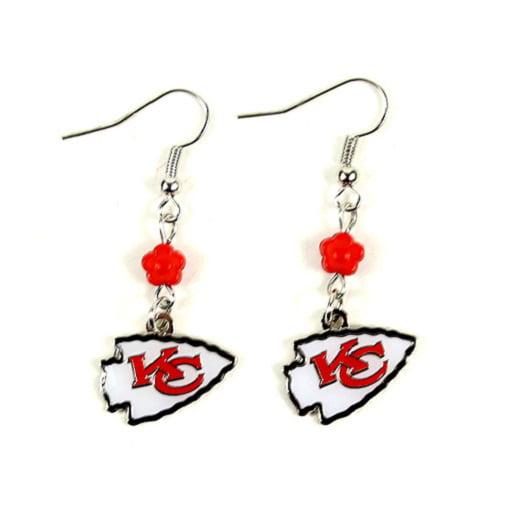 Kansas City Chiefs NFL Sophie Style Dangle Earrings