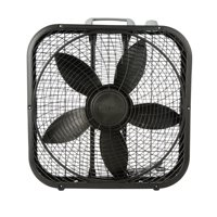 "Lasko Cool Colors 20"" Box 3-Speed Fan, Model #B20301, Black"