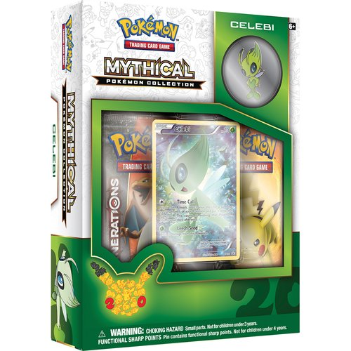 Pokemon 2016 Mythical Pin Box, Celebi