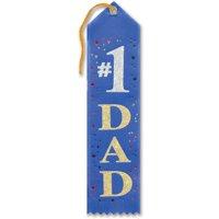 DDI 1908508 No. 1 Dad Award Ribbon, Case of 36