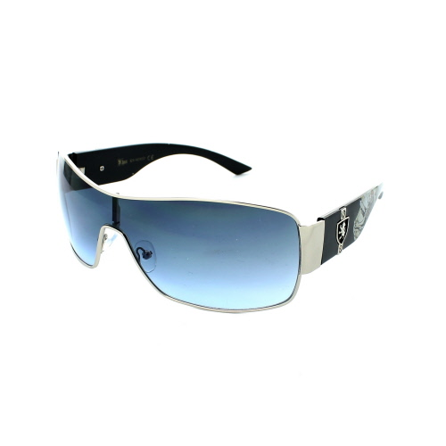 KHAN Sunglasses Shield 3635 - Silver - image 1 de 1