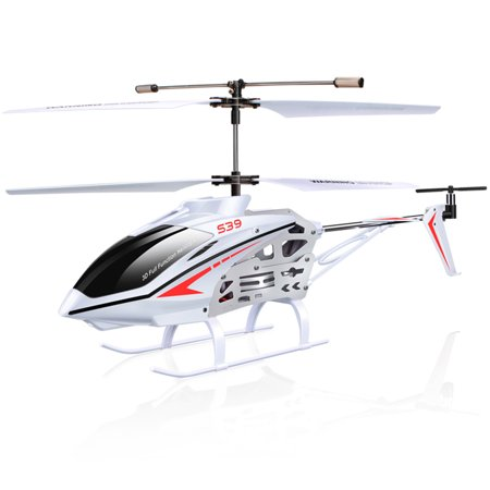 SYMA S39 2.4GHz 3CH RC Helicopter with Gyro Led Flashing Aluminum Anti-Shock Remote Control Toy For Kids Gift
