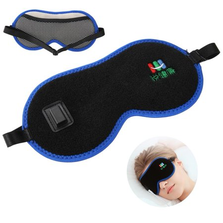 Yosoo USB Heating Eye Mask,Graphene USB Far Infrared Ray Heating Eye Mask Relieving Dark Circle Eye Mask,Sleeping Eye Mask](Red Mist Mask)