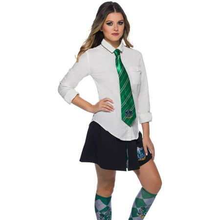The Wizarding World Of Harry Potter Slytherin Tie Halloween Costume Accessory - Harry Potter Slytherin Robe