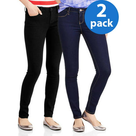 Juniors' No Boundaries Classic Skinny Jeans 2pk Bundle
