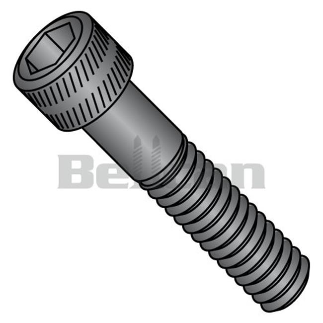 No.8-32 x 0.25 Coarse Thread Socket Head Cap Screw, Plain - Box of 100