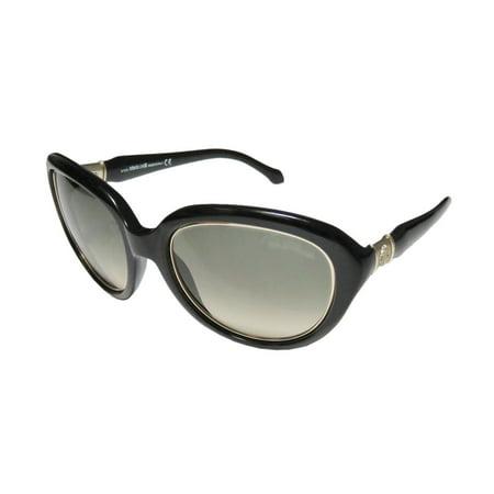 717e21e67 New Roberto Cavalli Acqua 781s Womens/Ladies Designer Full-Rim Gradient  Black / Gold Runway Fashion Shades Made In Italy Frame Gradient Green  Lenses ...