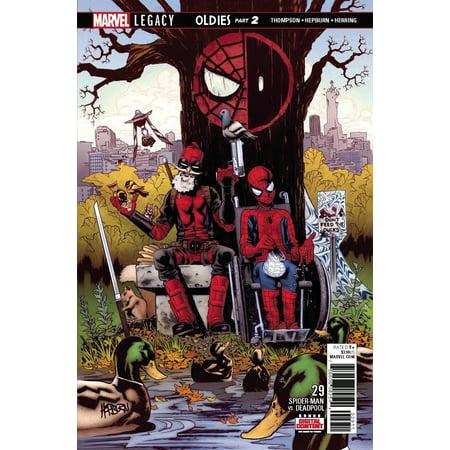 Marvel Spider-Man Deadpool: Spider-Man Deadpool #29 (Deadpool Spiderman Slash)