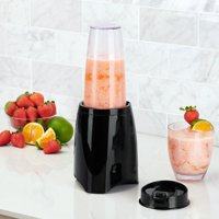 Deals on Mainstays Black Personal Blender w/Blend-and-Go Travel Cup
