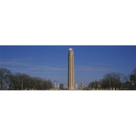 Low angle view of a monument in a park Liberty Memorial Kansas City Missouri USA Canvas Art - Panoramic Images (18 x 6)](Party City Overland Park Kansas)