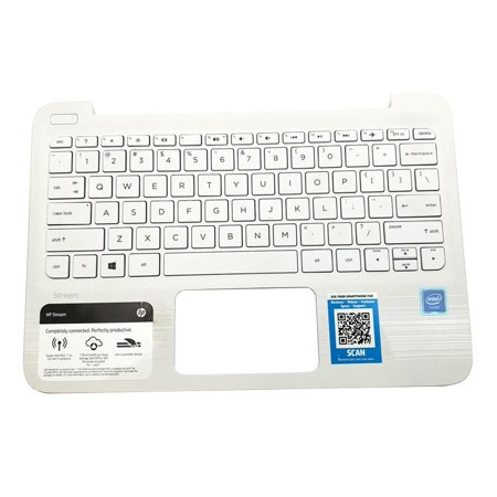 Stream Top Assembly (EAY0H01109A V135246FS3 US HP Stream 11-Y Series TOP Cover Laptop Keyboard Palmrest Assembly Laptop Palmrest Touchpad Assembly - Used Very Good)