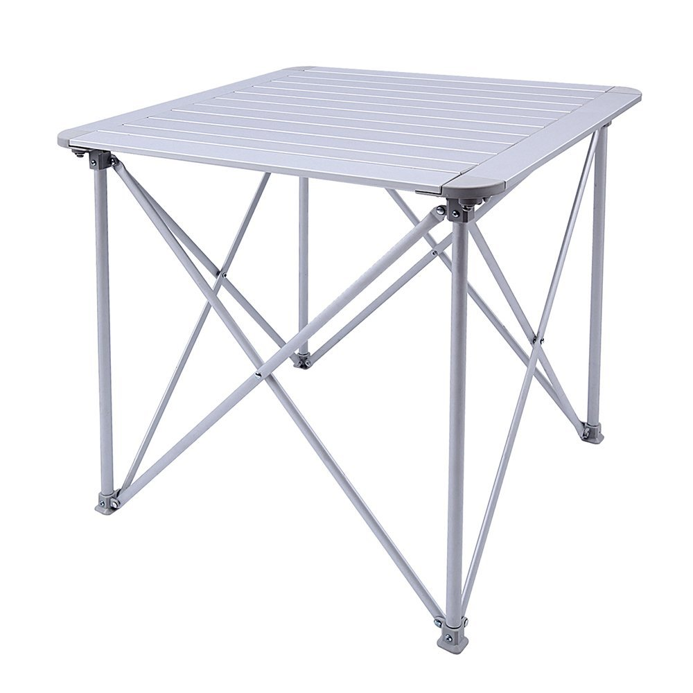 KingCamp Aluminum Alloy Folding Camp Table Roll-Top Lightweight Portable Stable Versatile,... by Kingcamp