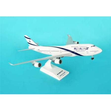 Daron SKR488 Skymarks El Al 747- 400 with Gear 747 400 Engine