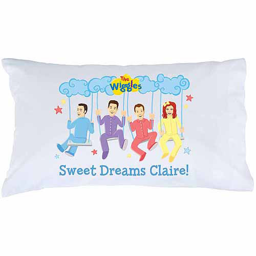Personalized The Wiggles Sweet Dreams Pillowcase