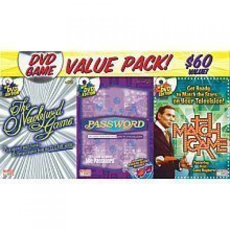 Endless Games 3 Pack of DVD Game Shows - Match Game, Newl...