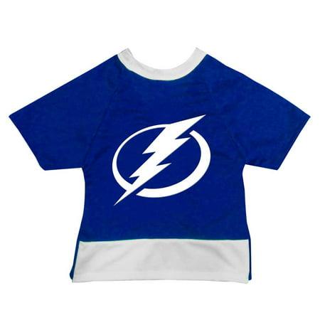 Image of Tampa Bay Lightning Pet Mesh Sports Jersey - Tiny Size