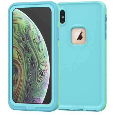 iPhone Xs Max Waterproof Case, Allytech Full Body Protective Case Drop Resistance Snowproof Dustproof Shockproof Underwater Full Sealed Case for iPhone Xs Max 6.5-inch Phone, (Best Dustproof Iphone Case)